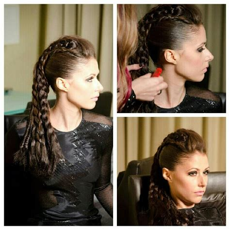 warrior looking hairstyles 314 best images about awesome hair ideas on pinterest