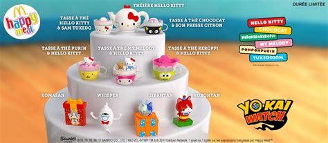 Yokai Orochi Happy Meal Mc Donald des jouets yo chez mcdonald s 09 ao 251 t 2017 news