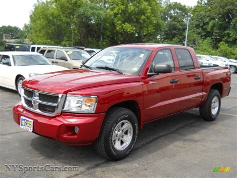 dodge dakota crew cab 2008 dodge dakota slt crew cab 4x4 in inferno