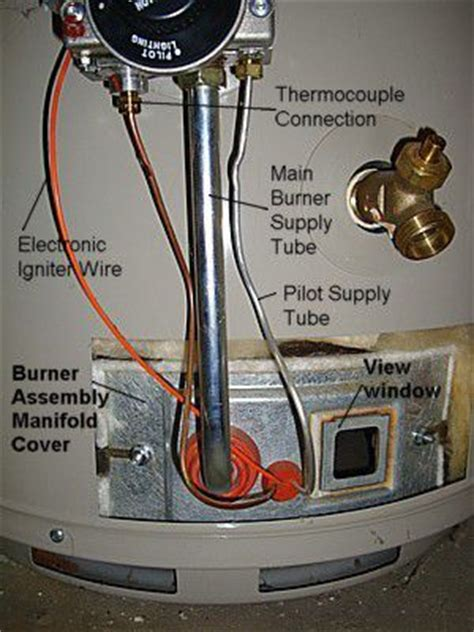 water heater thermocouple how to replace a water heater thermocouple or flame sensor