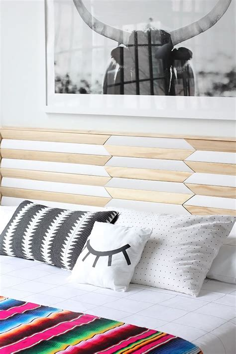 modern diy headboard 25 best ideas about modern headboard on pinterest