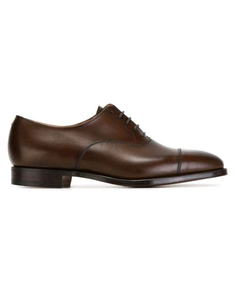 crockett and jones oxford shoes crockett and jones classic oxford shoes in brown for