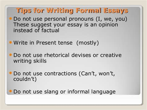 Can You Use Personal Pronouns In A Persuasive Essay by Essay Do Not Use Personal Pronouns