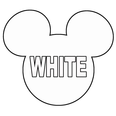 mickey template outline of mickey mouse cliparts co