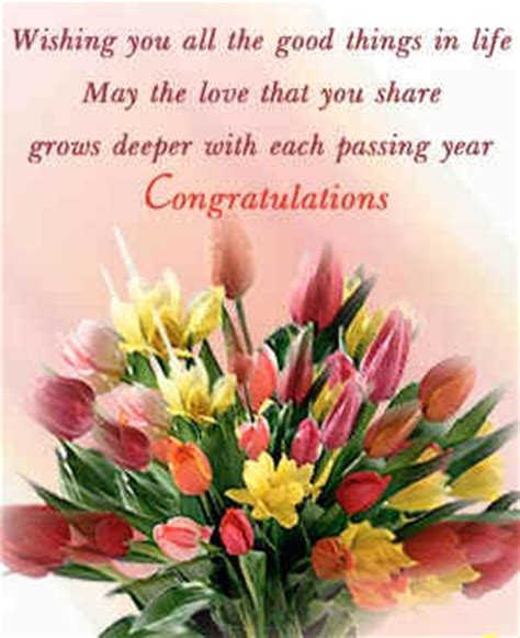 Congratulation Wishes For Wedding Anniversary by Anniversary Congratulations