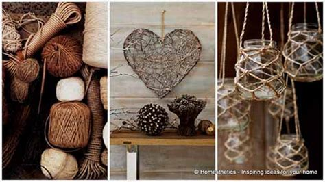rope craft projects 15 beautiful rope crafts for timeless decor ideas lil