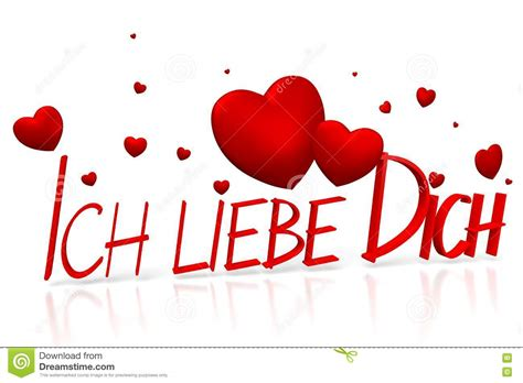 wann ich liebe dich ich 3d liebe dich ich liebe dich deutscher stock