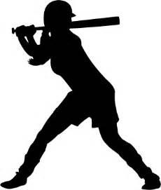 baseball softball player sticker car stickers