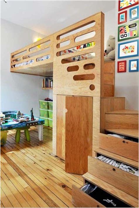 Tempat Tidur Kayu Anak desain tempat tidur minimalis anak laki laki dan perempuan