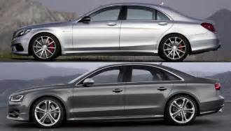 Audi S8 Vs A8 Mercedes S 63 Amg 4matic Vs Audi S8 Speedometer