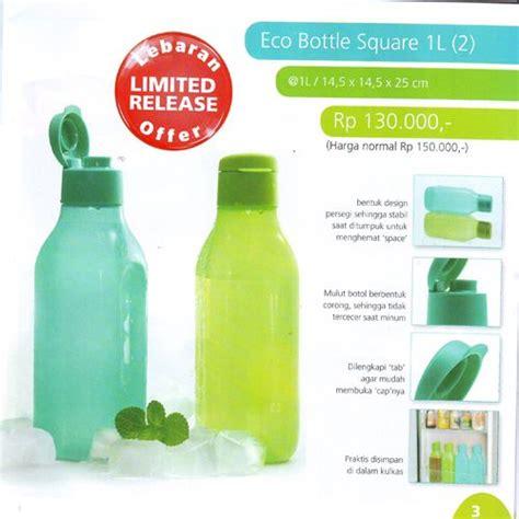 Tupperware Summer Promo Murah eco bottle square 1l 2 tupperware katalog promo murah wishlist for kitchen