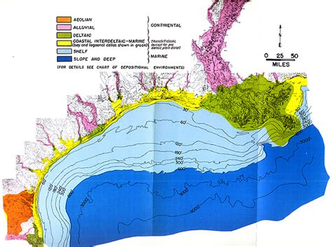 Gulf Of Mexico Continental Shelf by Classification Of Environments Of The Northwestern Gulf Of