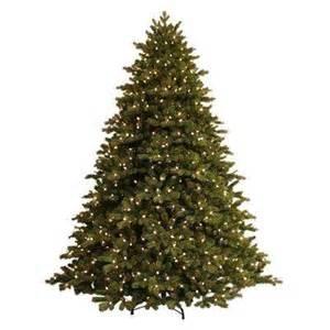 pre lit christmas trees artificial christmas trees
