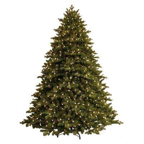 home accents sierra nevada fir tree 75 pre lit trees artificial trees trees the home depot
