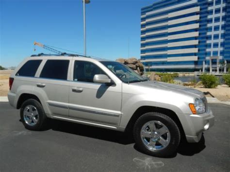 how does cars work 2007 jeep grand cherokee navigation system sell used 2007 jeep gr cherokee overland rust free original az owned serviced and driven in