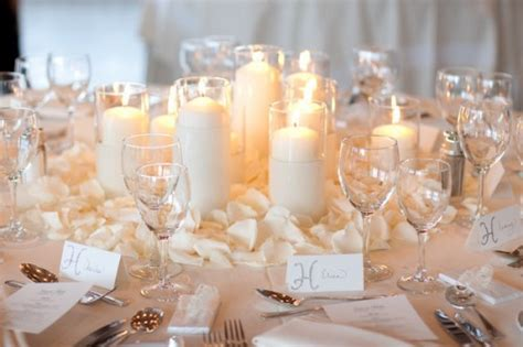diy winter wedding centerpieces diy winter wedding decoration with candleswedwebtalks wedwebtalks