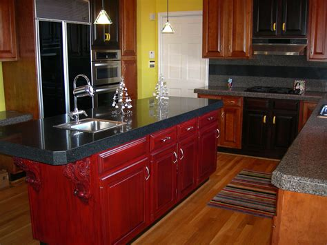 refinished kitchen cabinets refinishing cabinets a simple do it yourself task