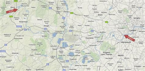 map of river thames at marlow a marathon a day helps get you from marlow to chel say