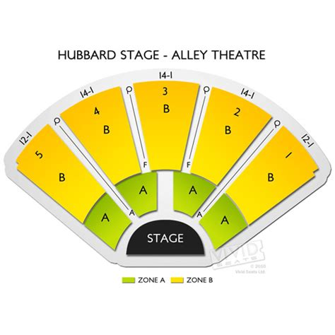 alley theatre seating chart houston tx hubbard stage alley theatre seating chart seats