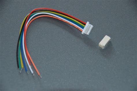 Saklar On Mini 2 Pin Kabel 10cm micro mini stecker 1 0mm 7 pin mit kabel 10cm 28awg jst sh kompatibel ebay