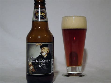 Deep Red Color founders old curmudgeon ale craft beer reviews and pictures