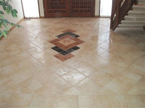 how to give new to an tile floor 45 best images about floor designs on tile