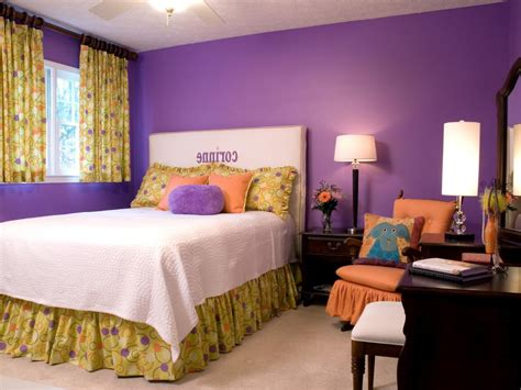 purple color schemes for bedrooms purple room color combination home combo