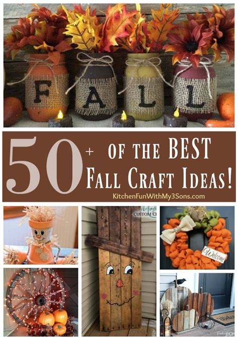 diy fall craft ideas kitchen fun