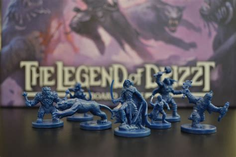 hero legend of drizzt 0786966157 unboxing the legend of drizzt board game mitc productions