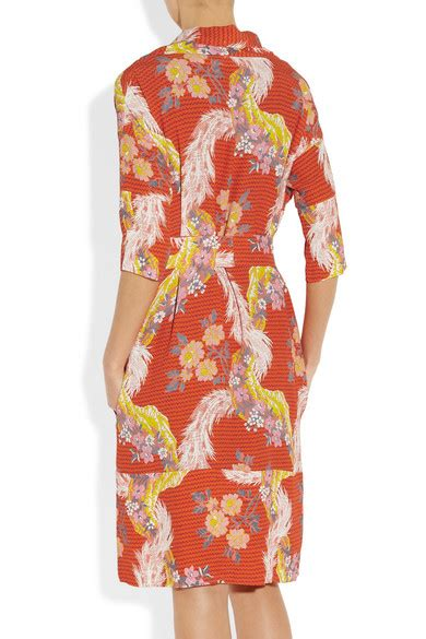 Friday Afternoon Dresses From Net A Porter by Vivienne Westwood Anglomania Wuupa Printed Crepe Dress