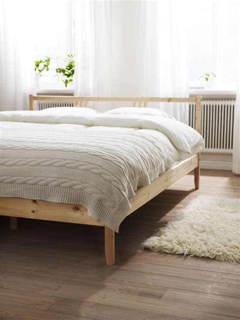 gjora bed hack fjellse bed frame pine stains ikea bed frames and