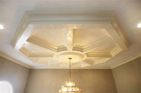 Tray Ceiling Kit coffered ceiling design ceiling beams coffer ceiling panels