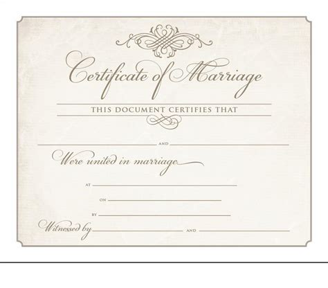 certification of marriage letter sles of ordination packet