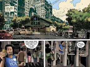 city of glass the graphic novel new york trilogy graphic novel strange attractors is note to nyc