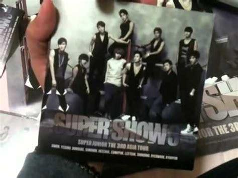 Cd Junior Show 3 Asia Tour show 3 junior the 3rd asia tour live album cd unboxing