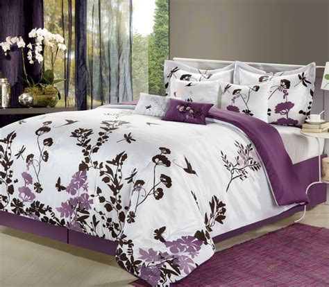 butterfly queen comforter set 1000 images about home interior plum purple on pinterest