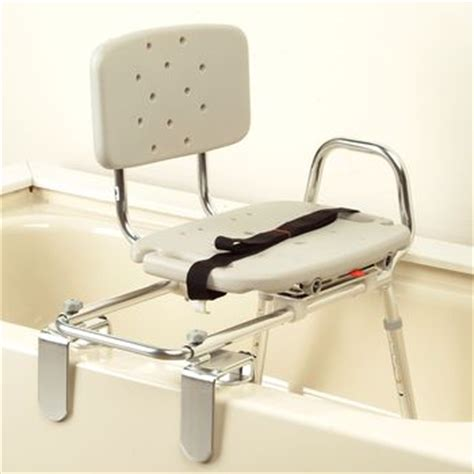 bath transfer bench with swivel seat eagle health tub mount sliding transfer bench w swivel