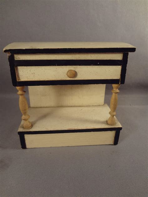 dolls house with lift blonde and ebony doll house lift top cabinet from jackieeverett on ruby lane