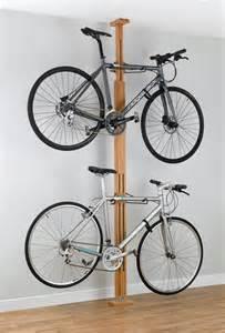 stylish wooden apartment bike rack storeyourboard