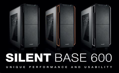 D1163 Be Gaming Silent Base 800 With Side Wind C1163 be silent base 600 window mid tower chassis review