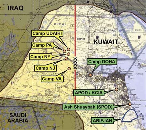 Kuwait Naval Base   Mapping for Novalogic games