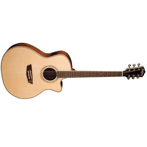 Comfort Guitar by Washburn Wcg18ce Comfort Series Acoustic Electric Guitar