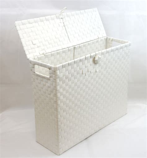 Bathroom Storage Boxes Toilet Roll Holder Bathroom Storage Box With Insert Handle Polypropylene 9112w 163 10 99