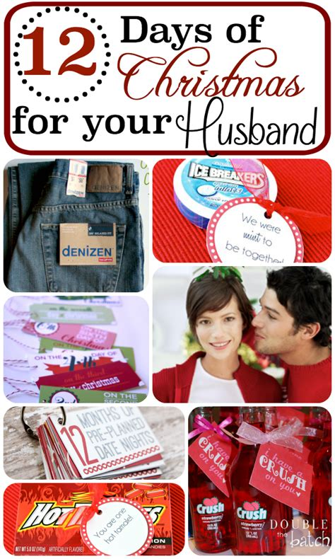 cute 12 days of christmas gift ideas for boyfriend 12 days of for your husband