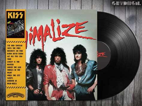 ncb cover design kiss kiss animalize alternative cover hard rock and heavy