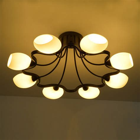 buy wholesale glass flush mount ceiling lights from