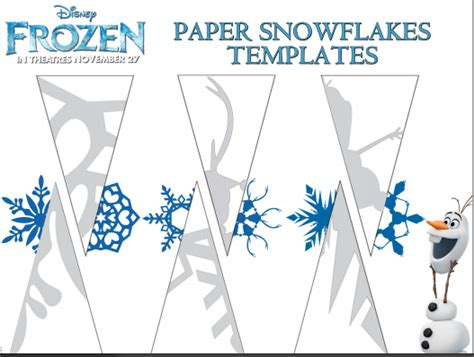 a4 printable snowflake template more printable disney frozen coloring and activity sheets
