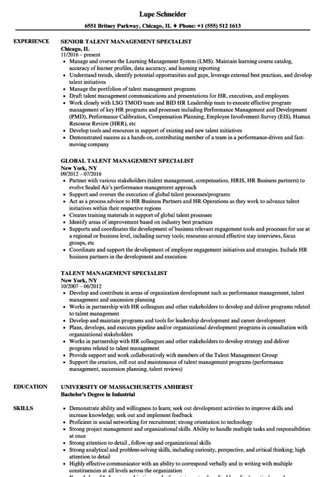 Him Specialist Cover Letter by Him Specialist Sle Resume Expenditure Template