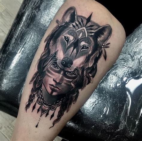 wolf tattoos for females 64 best wolf designs for and 2018