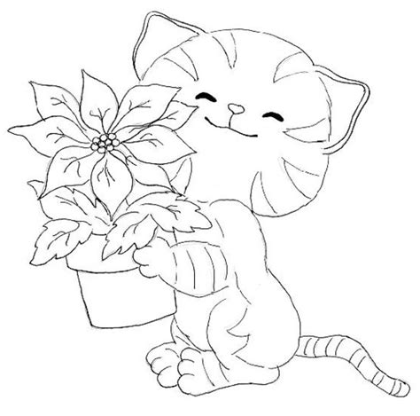 Kitties Coloring Pages kitten coloring pages 3 coloring pages to print
